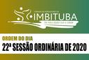 22ª Sessão Ordinária de 2020
