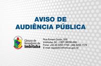 AVISO DE AUDIÊNCIA PÚBLICA N° 003/2017