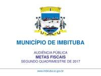 Ata Metas Fiscais 2º Quadrimestre da PMI.