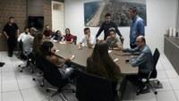 Jovens Deputados visitam Câmara de Imbituba