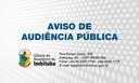 AVISO DE AUDIÊNCIA PÚBLICA N° 007/2017