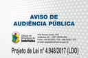 Aviso de Audiência Pública