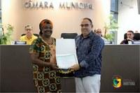 Movimento Consciência Negra de Imbituba recebe moção de congratulação.