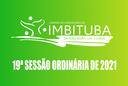 Pauta da 19ª Sessão Ordinária de 2021