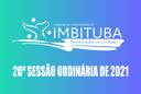 Pauta da 20ª Sessão Ordinária de 2021