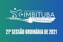 Pauta da 21ª Sessão Ordinária de 2021