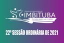 Pauta da 22ª Sessão Ordinária de 2021