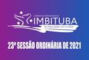 Pauta da 23ª Sessão Ordinária de 2021