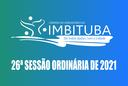 Pauta da 26ª Sessão Ordinária de 2021