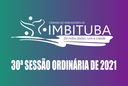 Pauta da 30ª Sessão Ordinária de 2021