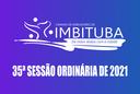 Pauta da 35ª Sessão Ordinária de 2021