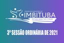 Pauta da 3ª Sessão Ordinária de 2021