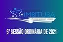 Pauta da 5ª Sessão Ordinária de 2021