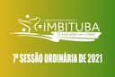 Pauta da 7ª Sessão Ordinária de 2021