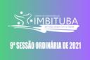 Pauta da 9ª Sessão Ordinária de 2021