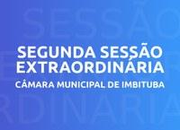 Presidente da Câmara de Vereadores de Imbituba convoca 2ª Sessão Extraordinária